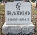 radio tombstone