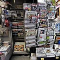 Paris newsstand